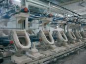 Оборудование для производства керамических санитарно-технических изделий