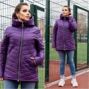 Куртка жіноча фіолетова весна Мод 248