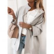 Пальто сіре модне жіноче