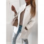 Пальто біле модне жіноче