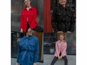 Пальто жіноче коротке (42-56) Мод 545
