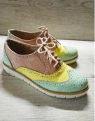 Стильные, шикарные лакированные туфли, натур кожа, р 36, стелька 23,5 см.
