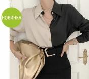 """Женская двухцветная блуза """"Nikita""""  Норма"""