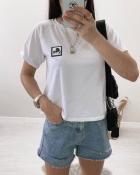 Футболка Lagerfeld, мод. 0313 белая на