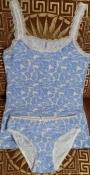 Пижама, комплект,  летняя.
