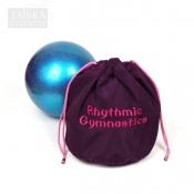 """Утепленный чехол для гимнастического мяча """"Слива. RG"""" от Taiska HM"""