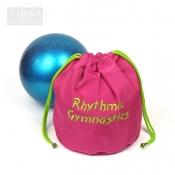 """Утепленный чехол для гимнастического мяча """"Розовый. RG"""" от Taiska HM"""