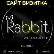 Создание сайта-Визитки  под ключ в Одессе XRabbit Web Solutions