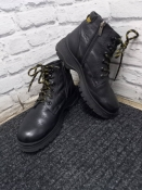Зимние кожаные ботинки 38 р.