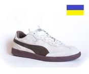 280 мм Puma Liga замшевые мужские кроссовки сникерсы бежевые