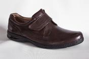 Florsheim Dorado мужские туфли кожаные на липучке коричневые